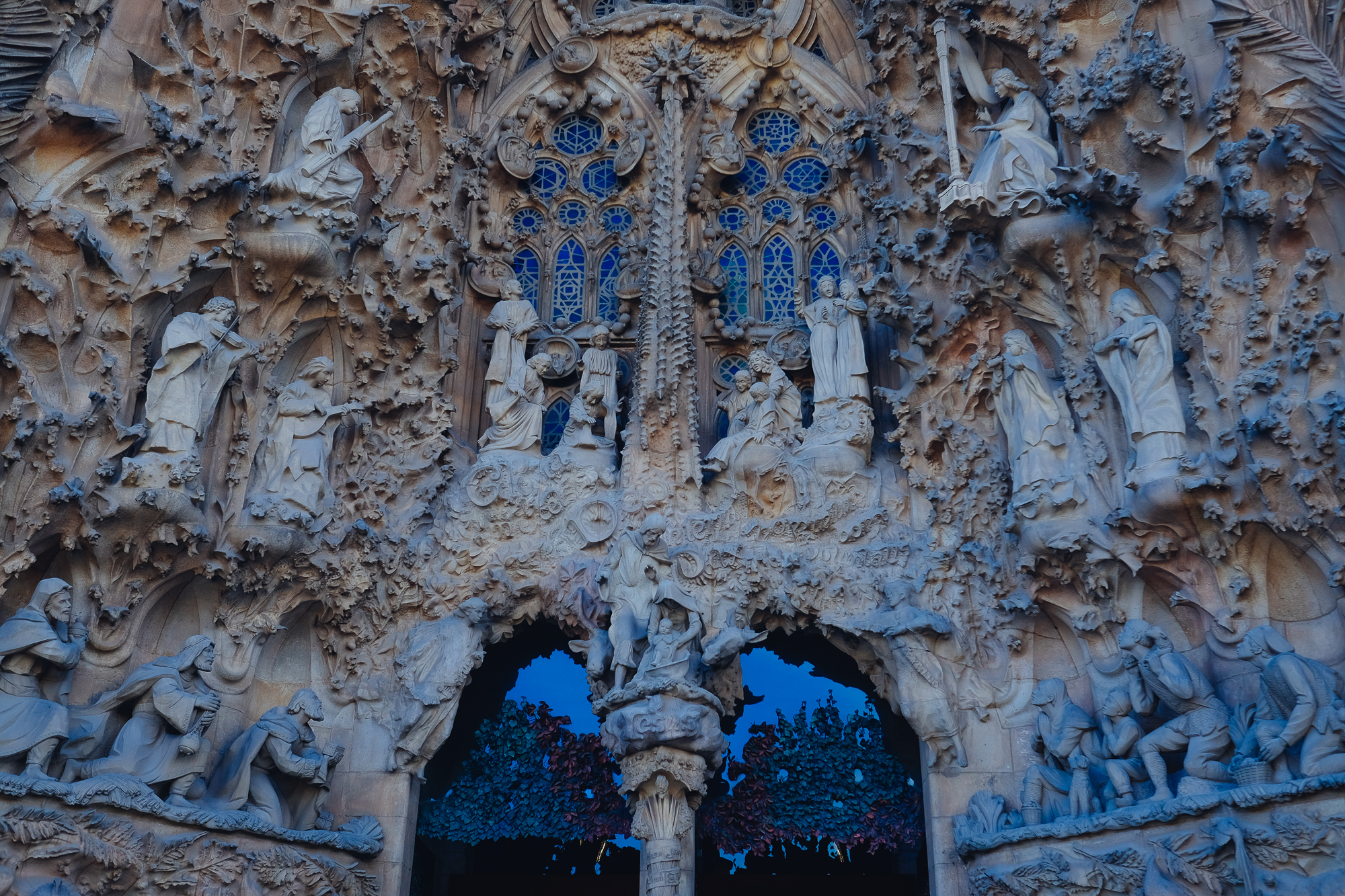 Sagrada Familia doorway