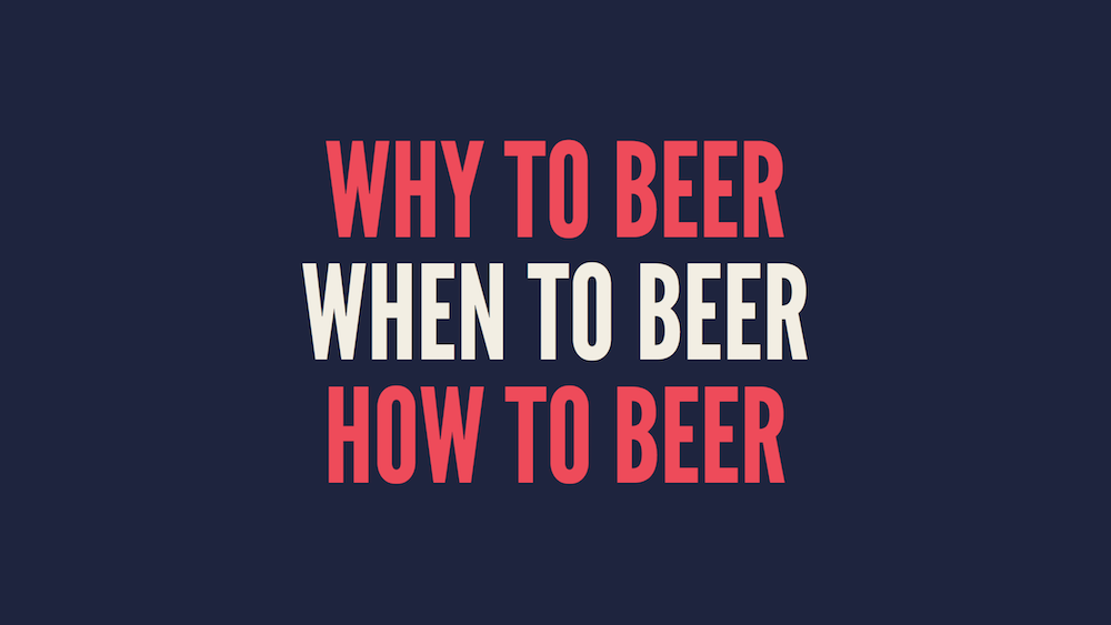 When to beer